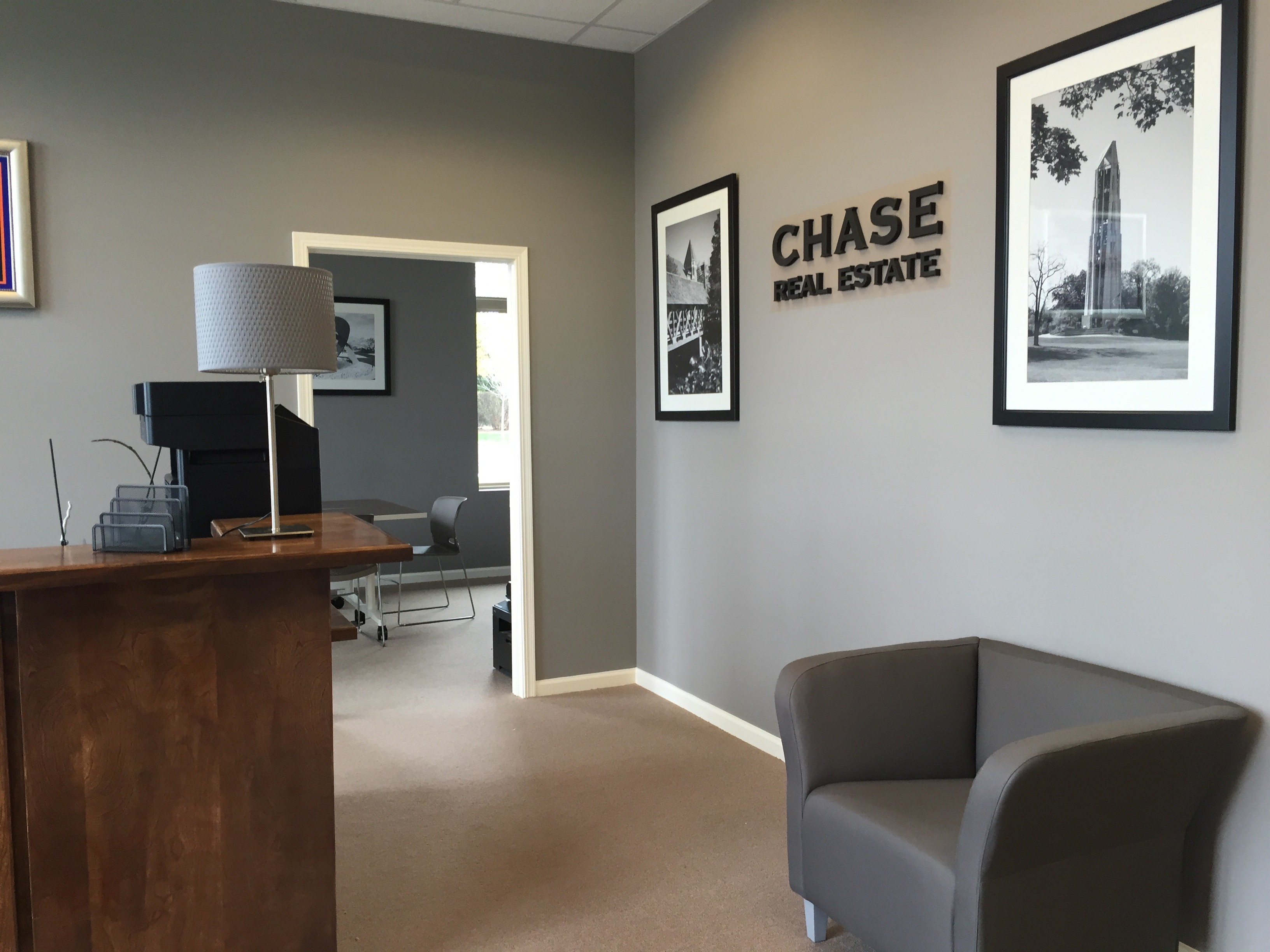 chase real estate office remodel