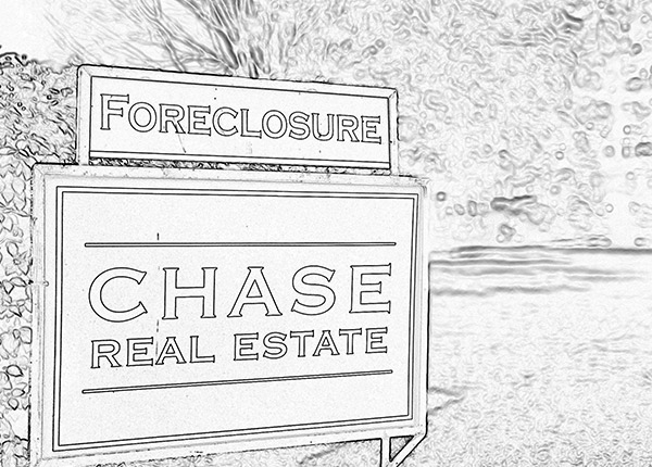 Chase Real Estate Sign