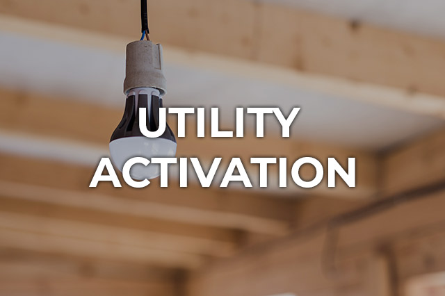 Utility Activation