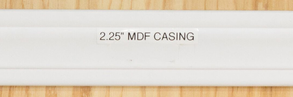 <strong>SKU 1696</strong>: Traditional MDF trim casing 2 1/4